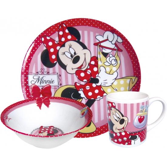 Disney Minnie Mouse eetset