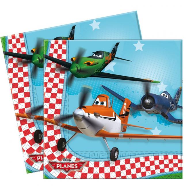 Disney servetten Planes 20 stuks