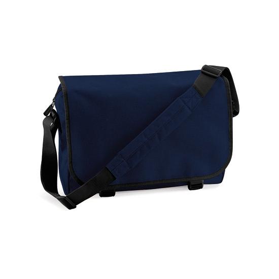 Donkerblauwe aktetassen 11 liter