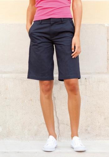 Donkerblauwe dames shorts