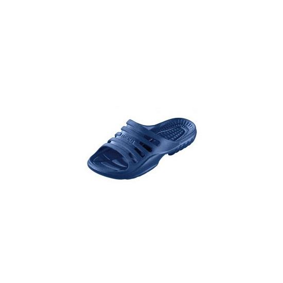 Douche slippers navy voor heren