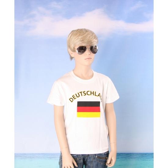 Duitse vlaggen t shirts voor kinderen