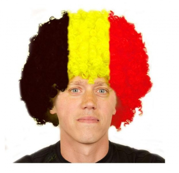 Duitsland afro pruik
