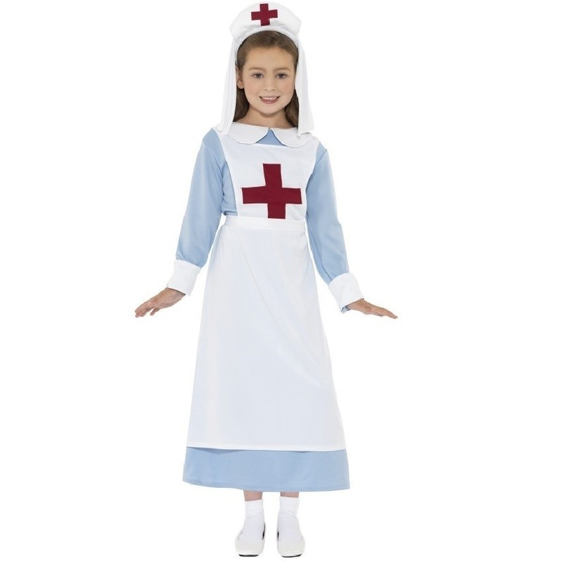 Eerste Wereldoorlog verpleegster kostuum