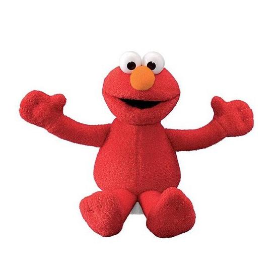 Elmo Sesamstraat knuffeltje