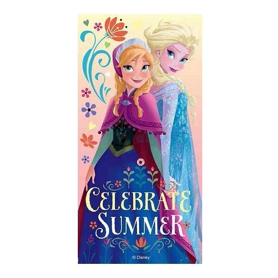 Elsa en Anna strandlaken 70 x 140 cm