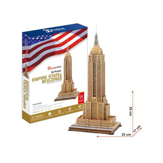 Empire State Building puzzel 3d