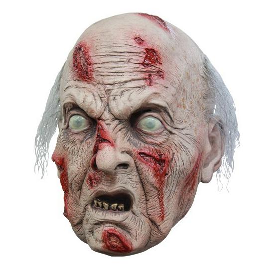 Enge oude man masker