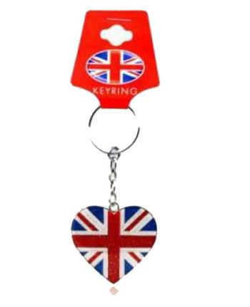 Engeland sleutelhangers