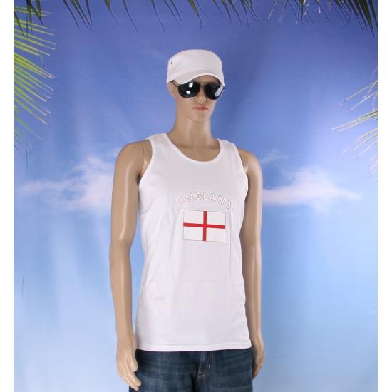 Engeland vlaggen tanktop  t shirt