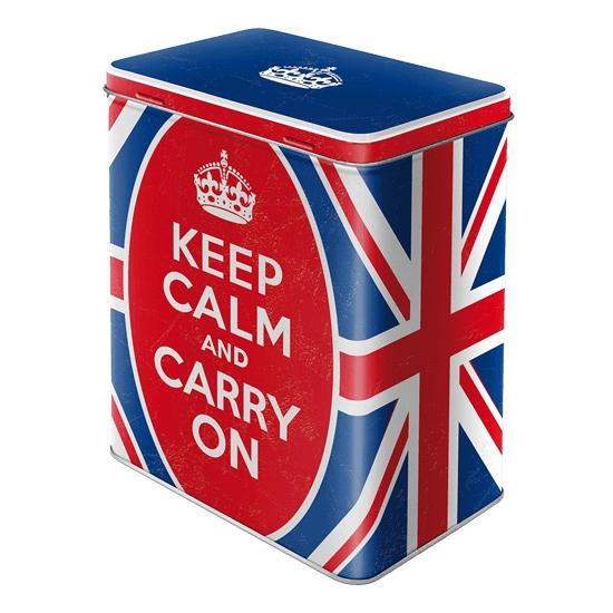Engels bewaarblik keep calm 20 cm