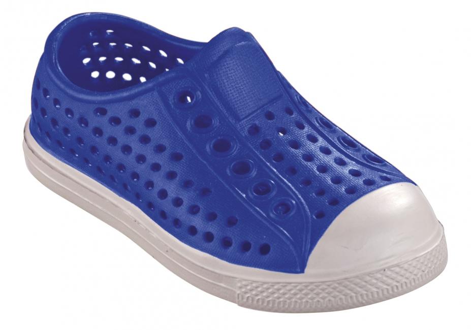 Extra lichte waterschoen voor kids blauw