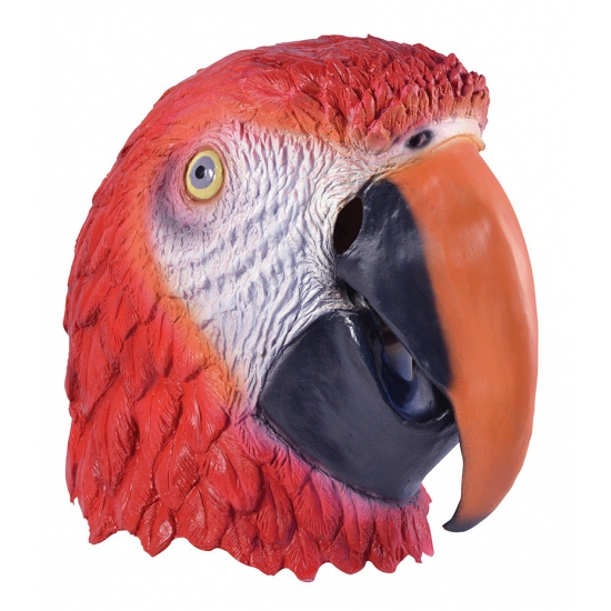 Feest masker papegaai