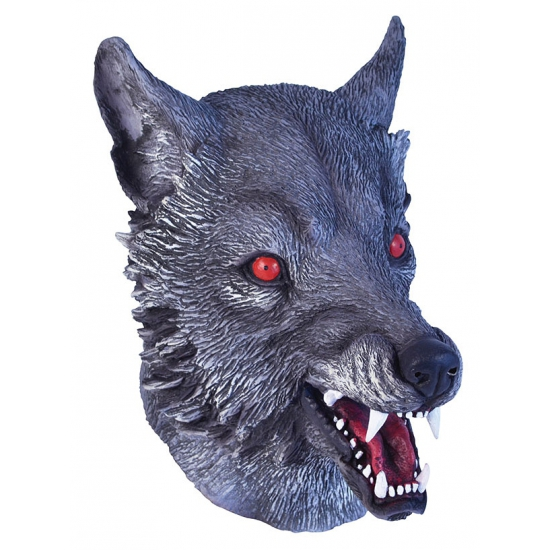Feest masker wolf