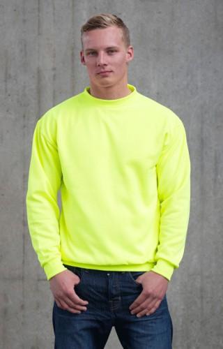 Fel gele sweater for heren