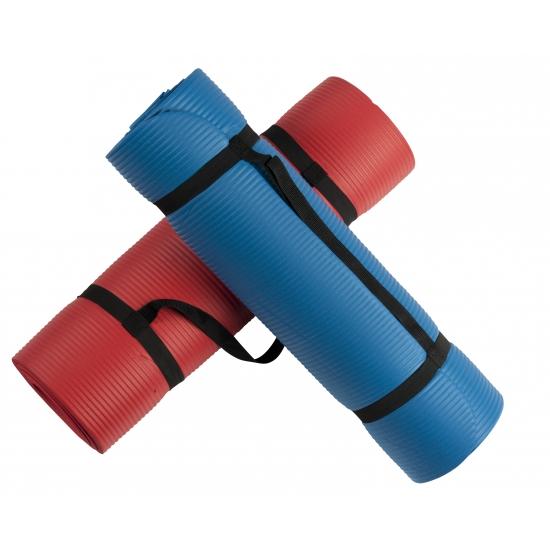 Fitness mat met draagband