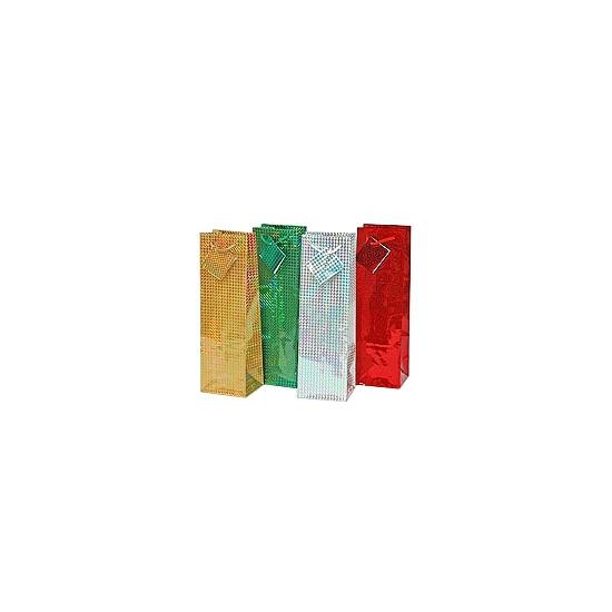 Fles geschenkverpakking 33 x 10 cm