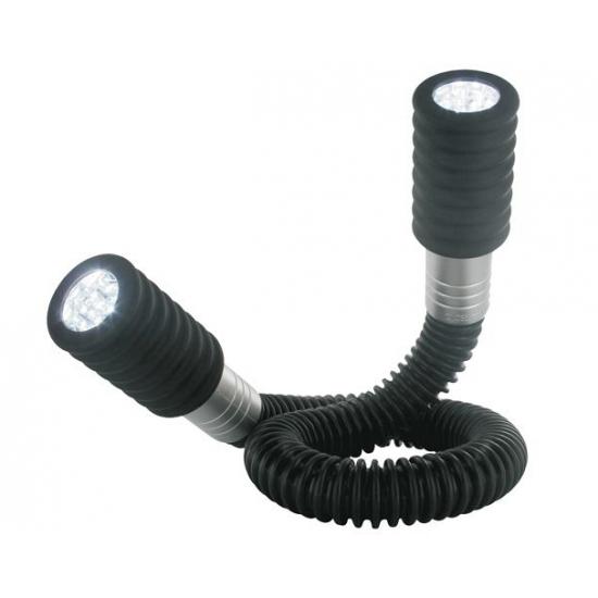 Flexibele LED lamp 2 x 12W