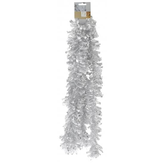 Folie slinger wit/zilver 270 cm