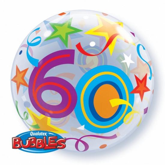 Folieballon helium 60 jaar