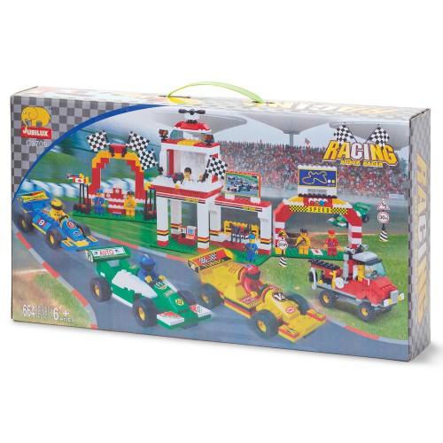 Formule 1 race bouwstenen set