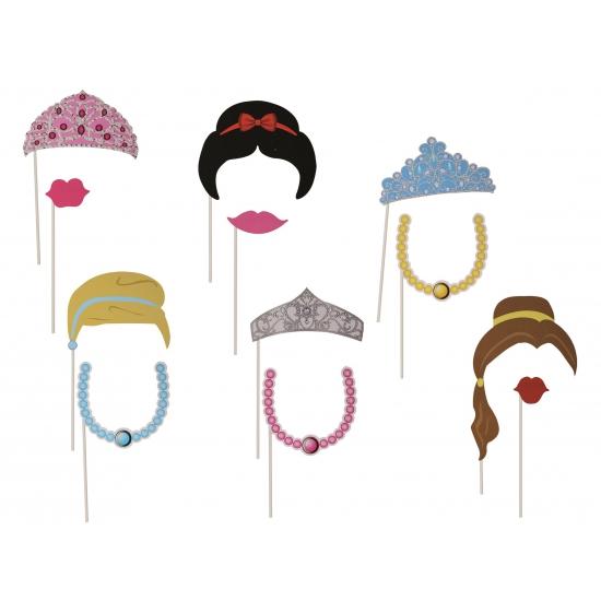 Foto accessoires dames op stokjes