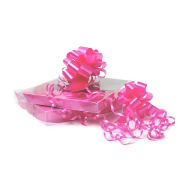 Fuchsia roze strik