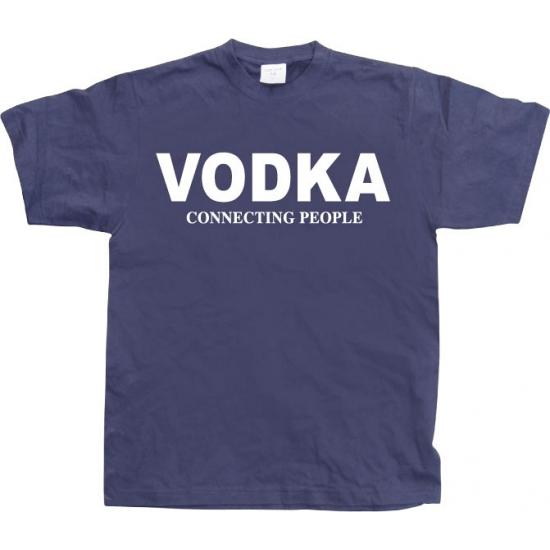 Funny heren shirt Vodka