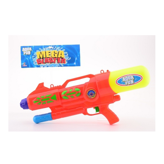 Gekleurd groot watergeweer 60 cm