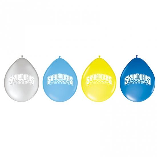 Gekleurde Skylanders ballonnen 8 stuks