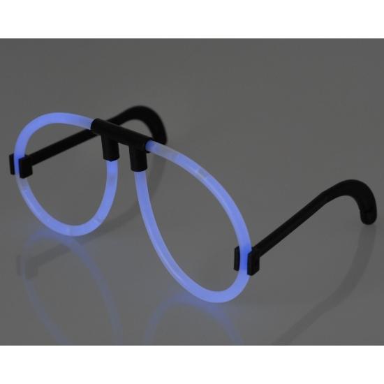 Glow bril neon blauw