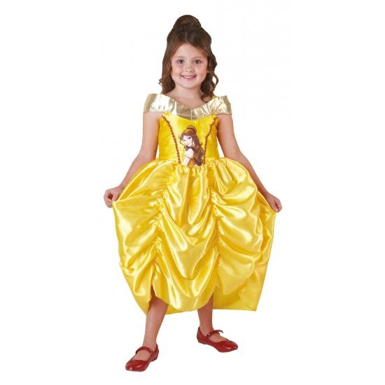 Gouden Belle jurk voor kinderen