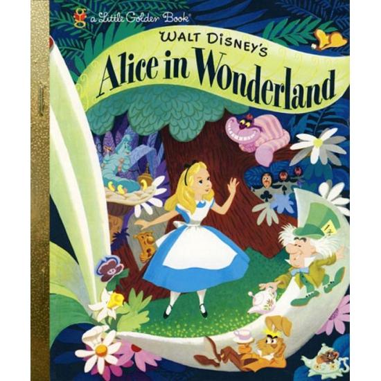Gouden boek Alice in Wonderland