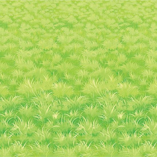 Gras decoratie 9 meter