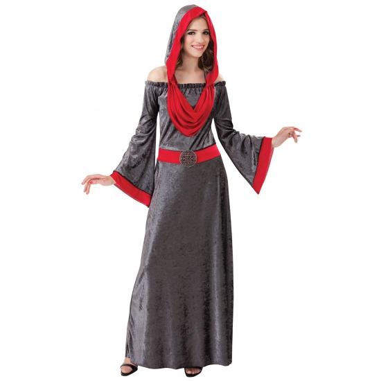 Grijze Gothic jurk Halloween