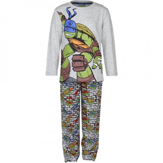 Grijze kinder pyjama Ninja Turtles