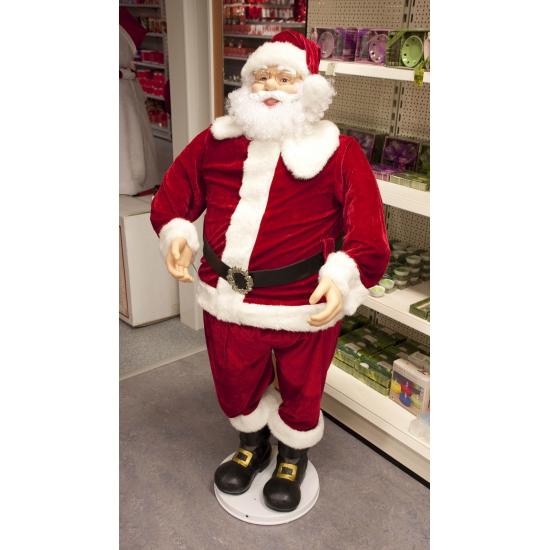 Grote Kerstman pop 150 cm