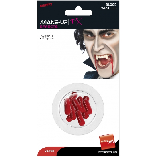 Halloween bloed capsules 10 stuks