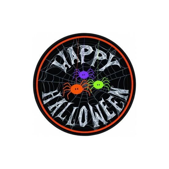 Halloween bordjes spin 10 stuks