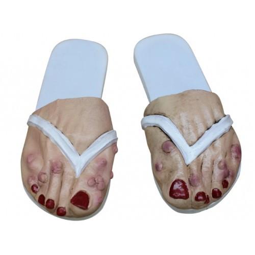 Halloween dames voeten