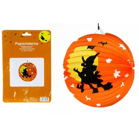 Halloween decoratie lampion 22 cm