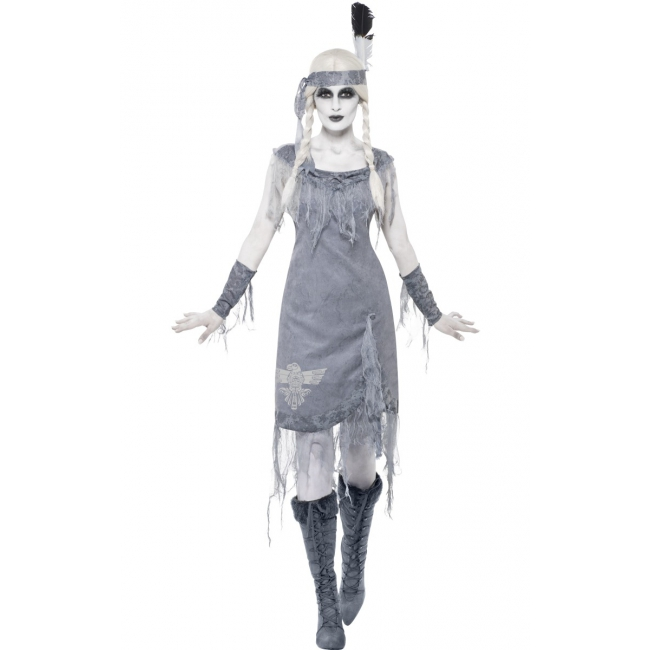 Halloween kostuum ghost town indianen jurkje