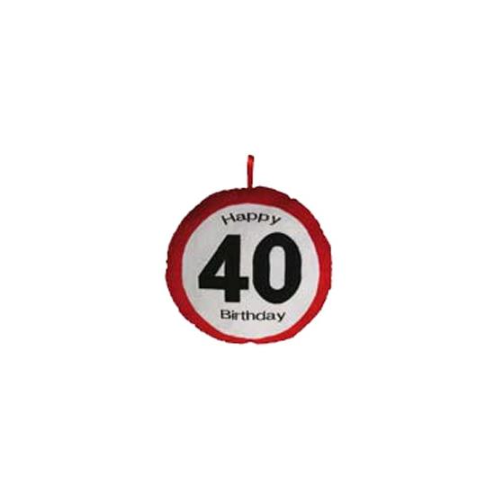 Happy 40 Birthday kussentje