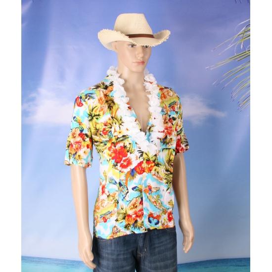 Hawaii verkleed set voor heren maat 2XL 3XL