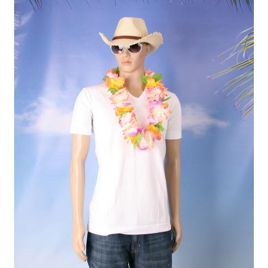 Hawaii verkleed set voor heren maat S M