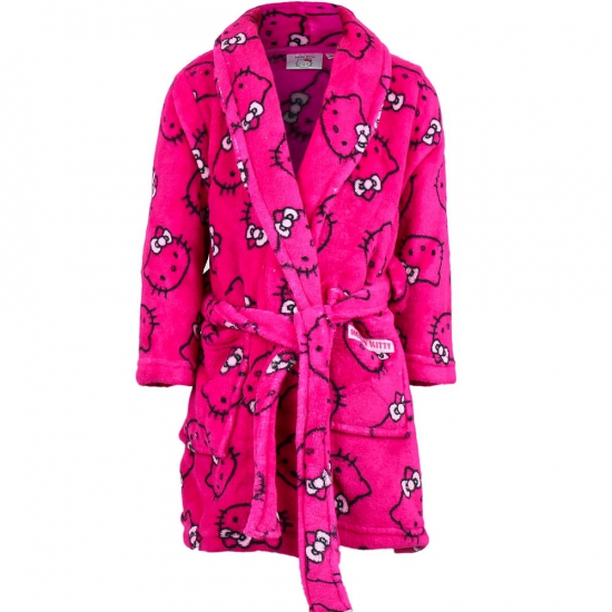 Hello Kitty Disney badjas roze