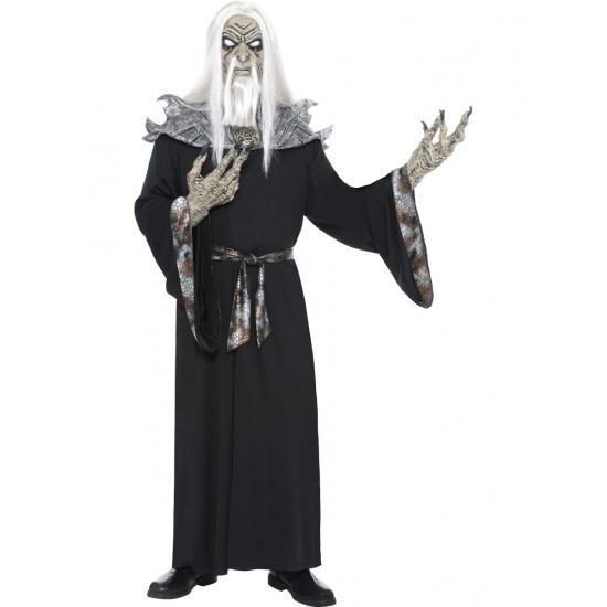 Horror zombie tovenaar kostuum