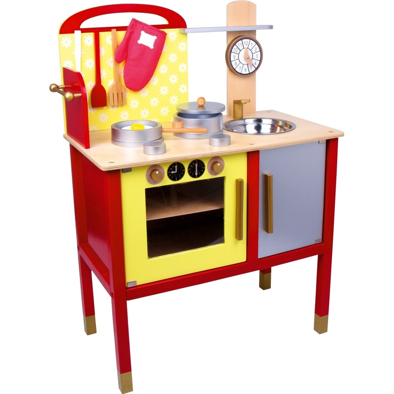 Houten speelgoed keuken 77 cm
