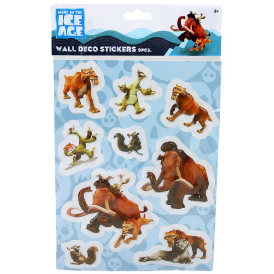 Ice Age 3D stickers