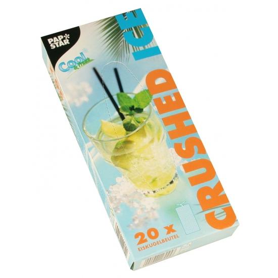 IJsblokjes zakjes voor crushed ice